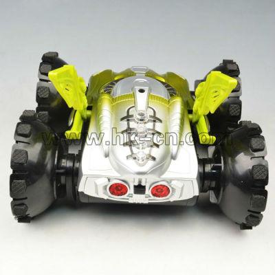 4ch auto stunt rc amphibienfahrzeug mit lichtern
