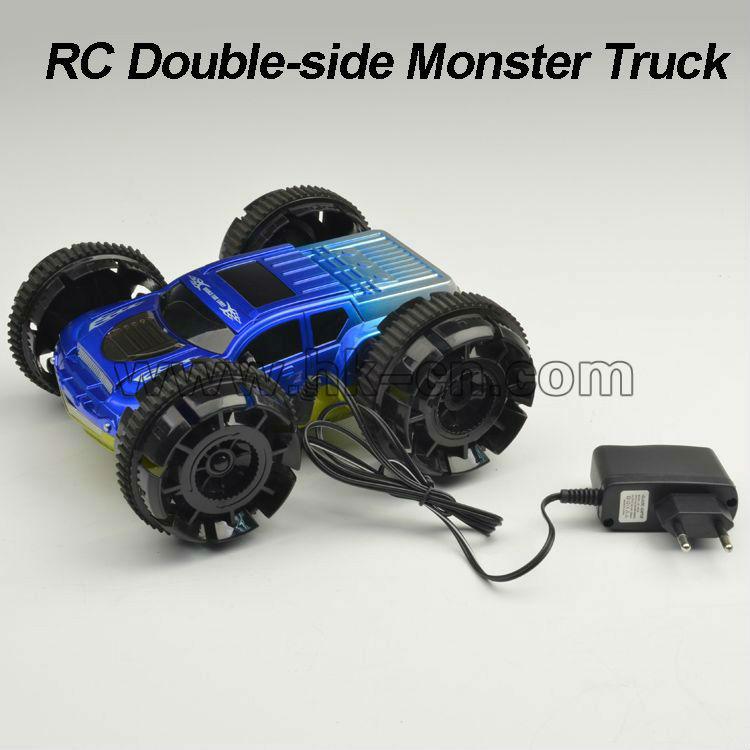 Doble lado truco de coches/coche twister/truco de coches/camiones rc