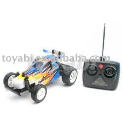 1:24 escala rc buggy coche con cuerpo de pvc