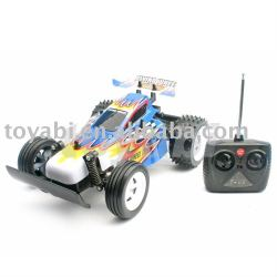 Escala 1:18 juguetes modelo de buggy con cuerpo de pvc