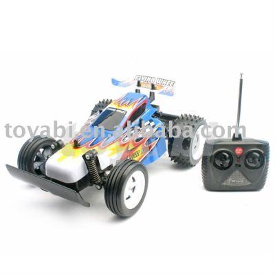 Modell im maßstab 1:18 spielzeug buggy körper mit pvc
