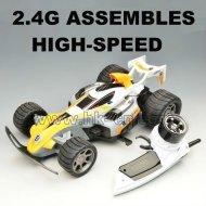 2.4g rennwagen montage mit hoher geschwindigkeit