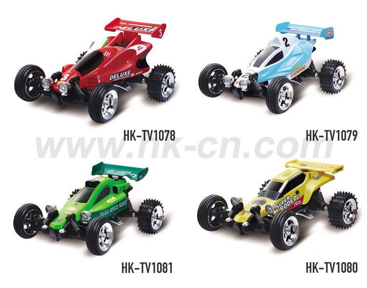 Rc voiture de course de kart 1:43 Échelle( boîte cadeau)