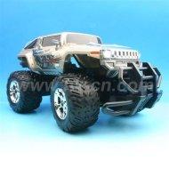 1:12 Échelle hummer rc monster truck avec la lumière