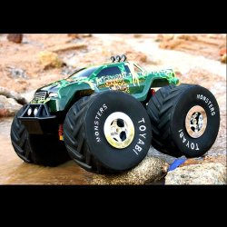 1:8 scale rc monster truck toyabi mit licht