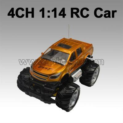Billige 4 kanal fernbedienung comtrol auto suv auto rc wd 2 1:14