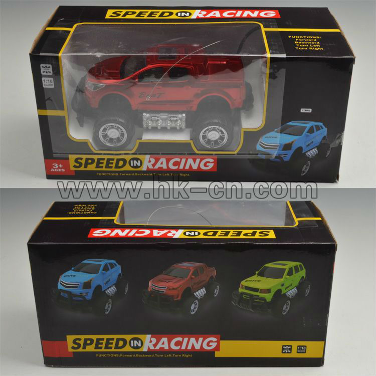 1/18 off- carretera buggy 4 canales rc truggy rc coche para las ventas