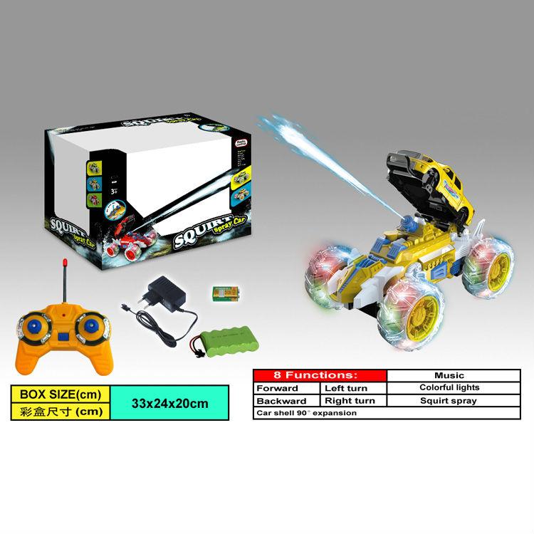 4ch watershooting rc vehículo