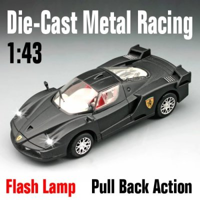 Morir- fundición de coches con la luz led