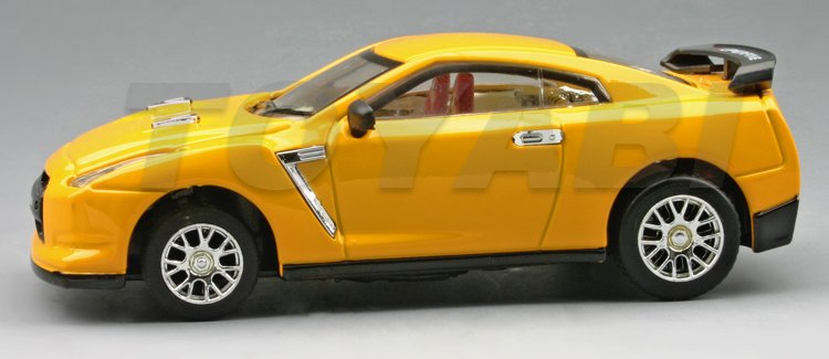 Coche del rc, escala 1:43 morir- reparto de metal super racing con luces led