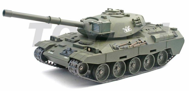 1:28 rc escala 74- tanque con tiro 6mm bb bala