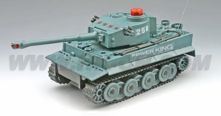 1/30 de tamaño mediano del rc tanque de batalla( competir de doble pack)