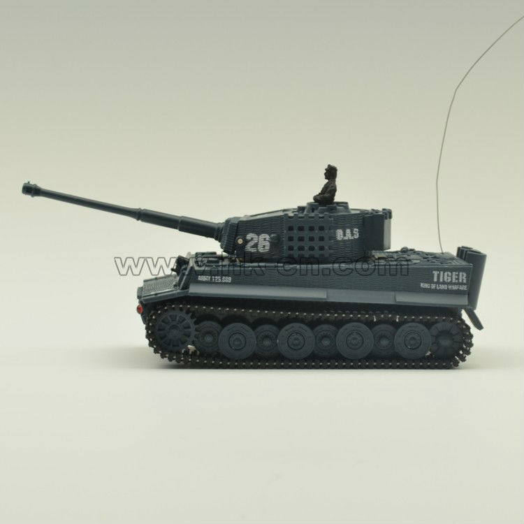 Me/72 de emulación de alta mini rc tanque de tigre del tanque del tanque del rc