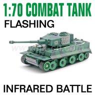 Escala 1:70 infrarrojo intermitente combatir el tanque del rc