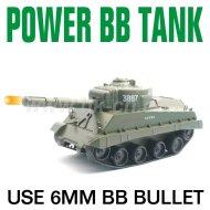 射撃6MMのBBの弾丸が付いているRCタンク