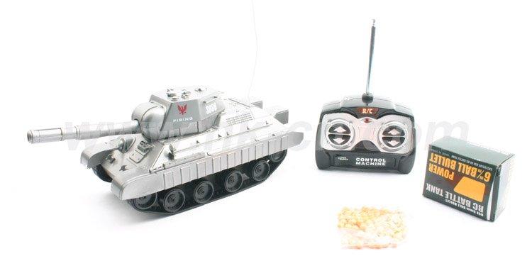los juguetes del rc tanque con tiro 6mm bb bala