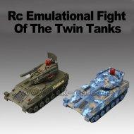 funkuhren emulational twin flug rc tank