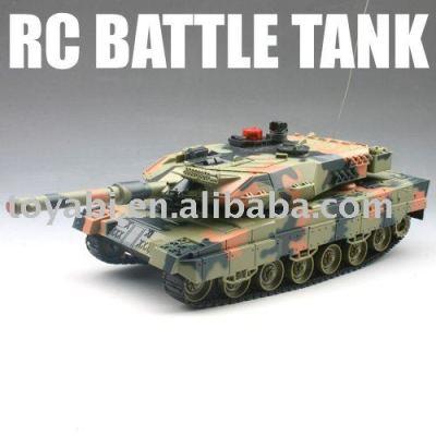 Rc réservoir de combat, avec plus de 8m télécommande infrarouge à distance