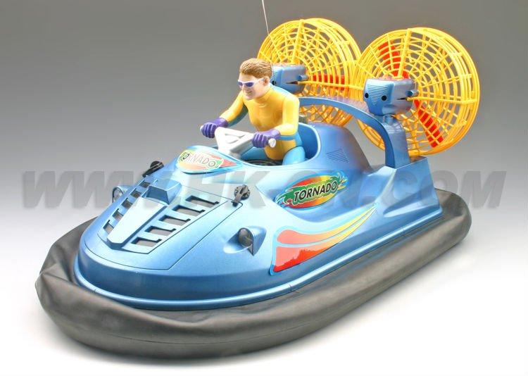 Rc aéroglisseur, commande radio jouets bateau