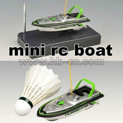 mini radio controlado del deporte barco
