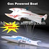 Bateau rc, jouets modèle rc gaz bateau à moteur