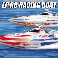小型ボート、RCのボートのおもちゃ、沖合いにボートを競争させているEP RC