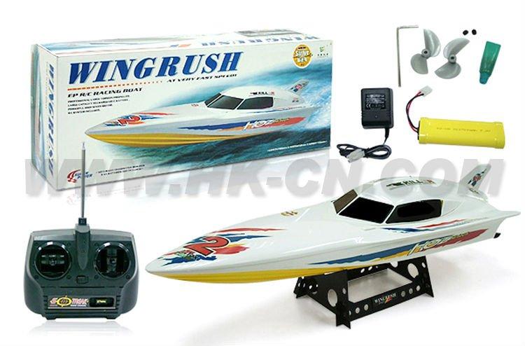 de alta velocidad de energía eléctrica rc carreras de barcos
