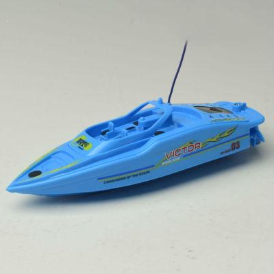 control de radio mini barco