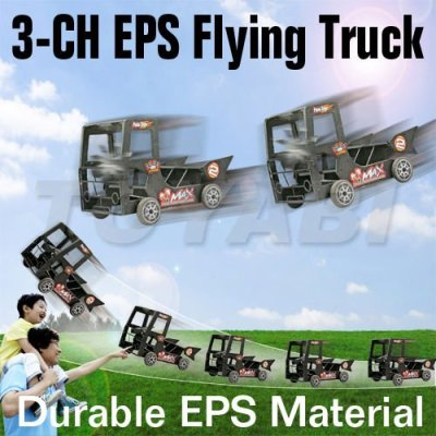 Rc 3- canal. toitéconomies série de vol de camion