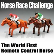 Caballo de juguete, caballo de plástico de juguete, mini rc carreras de carrera de caballos de desafío y el mundo primer mando a distancia caballo