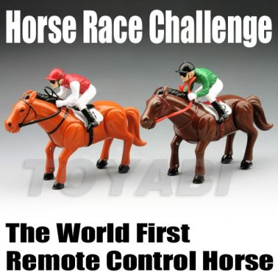 Spielzeug pferd, kunststoff pferd spielzeug, mini rc racing pferderennen herausforderung und die weltweit erste fernbedienung pferd