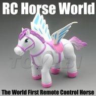 Kind spielzeug, mini rc spielzeug tier kunststoff pferd spielzeug