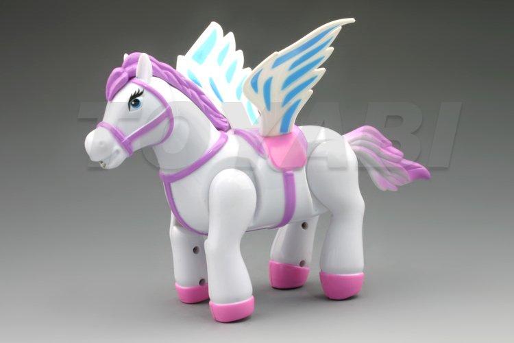 Mini rc kunststoff pferd tier spielzeug, beste geschenk für kind