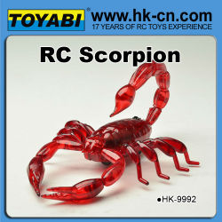 escorpión rc de juguete del rc juguete de control remoto