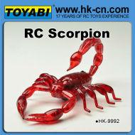 rcリモートコントロールのおもちゃのrc動物のサソリ