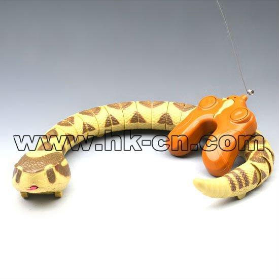 control deinfrarrojos rc rc serpiente de cascabel de serpiente