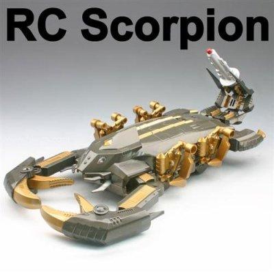 Jouets en plastique, rc. scorpion, frais de contrôle à distance jouets pour animaux