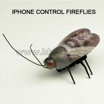 El iphone de control luciérnaga de juguete del rc, rc de juguete de los animales