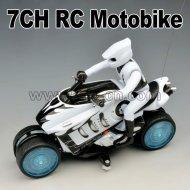 7ch rc moto avec fonction de filature à la dérive