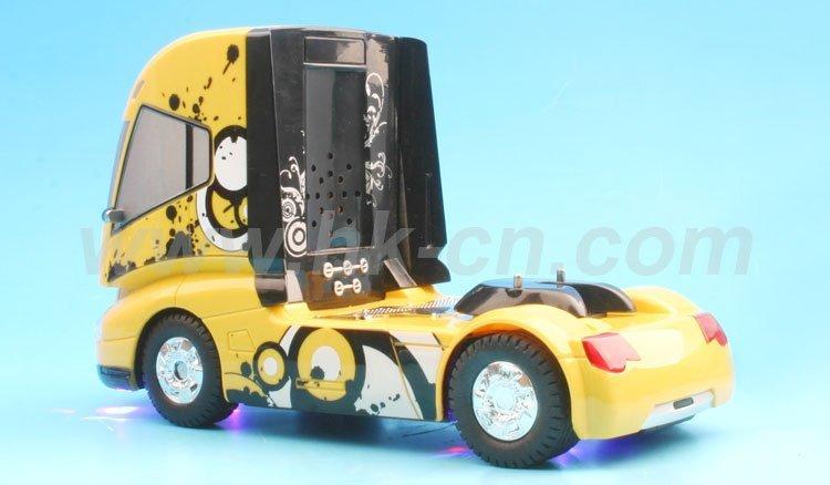 1/32 mini camiones rc juguetes con automática de mecanismo desmontable