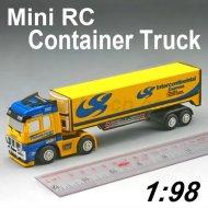 Mini camiones, rc juguetes de camiones, tractor rc camiones de remolque, mini rc contenedores