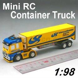 Mini camion, jouets camion rc, rc camions tracteur remorque, mini rc conteneur