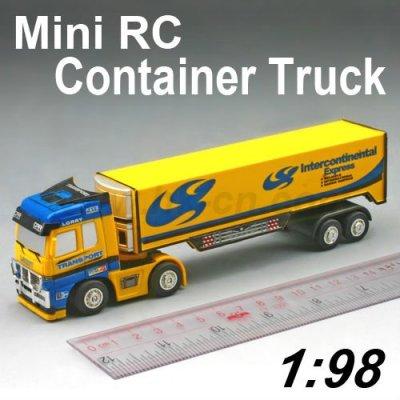Mini lkw, rc lkw spielzeug, rc sattelzug lkw, mini rc container