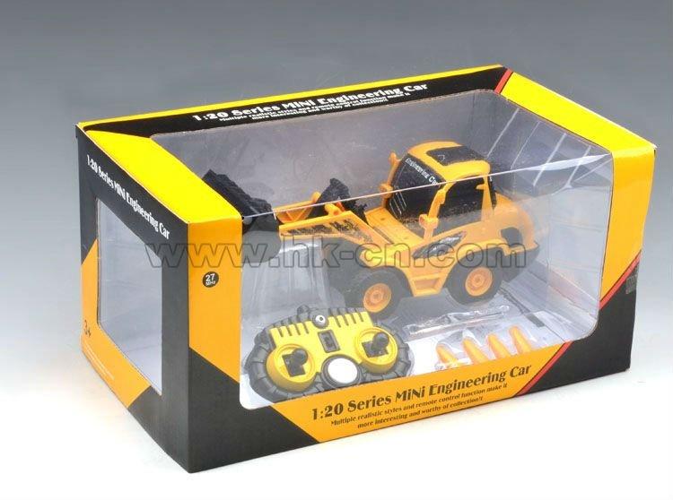 1:20 6ch escala rc excavadoras/bulldozers para rc venta tirando del carro
