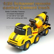 1:20 5 canaux télécommande camion de ciment