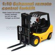 Chariot élévateur 1:10 6 canaux télécommande rc voiture d'ingénierie