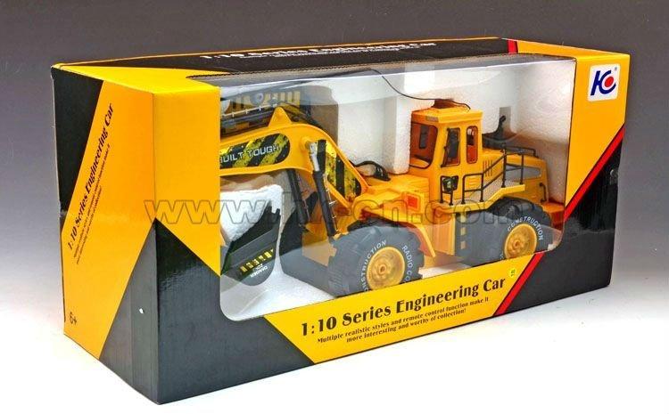 1:10 6 canal rc excavadora para la venta del rc excavadoras/bulldozers para la venta