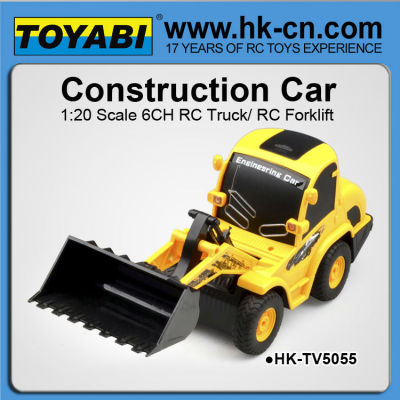 Maßstab 1:20 6ch rc bulldozer zum verkauf rc bagger zum verkauf