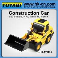 Maßstab 1:20 rc 6ch rc bulldozer bulldozer für saler