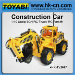 1:10 rc bulldozer ziehen lkw 6 kanal